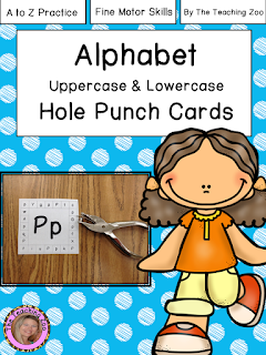 https://www.teacherspayteachers.com/Product/ABC-Uppercase-Lowercase-Hole-Puncher-Cards-A-to-Z-983831