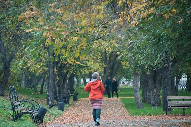 Fall in Semey