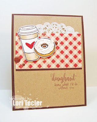 Doughnut Know card-designed by Lori Tecler/Inking Aloud-stamps and dies from Waltzingmouse Stamps