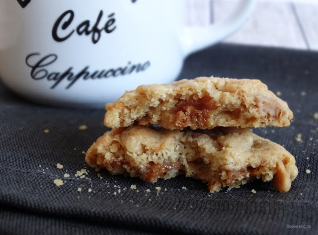 Saltet Peanuts Toffee Cookies