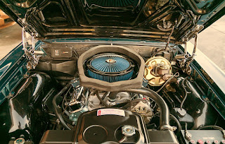 1967 Pontiac LeMans GTO Convertible Baggage Engine 2