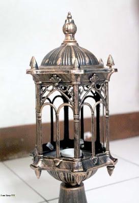 lampu antik, lampu besi tempa, lampu pju,
