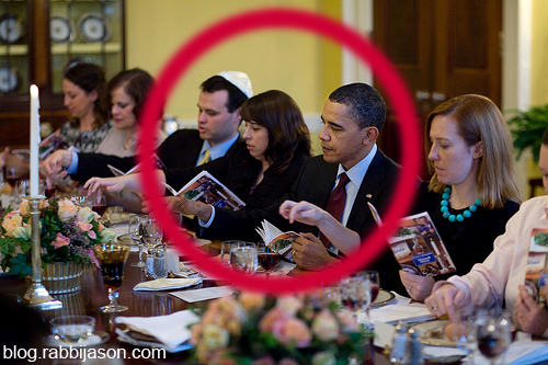 Barack Obama White House Passover Seder
