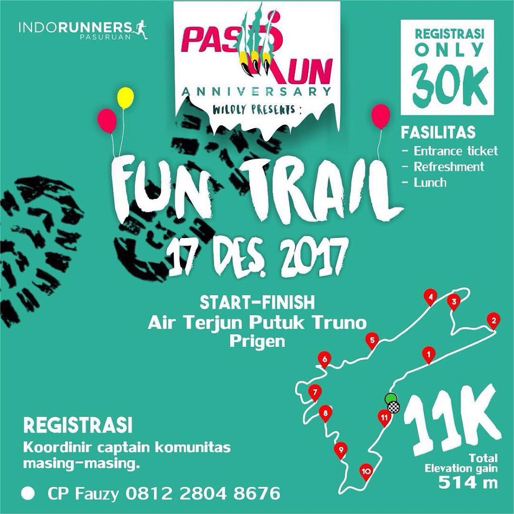 PasRun Fun Trail • 2017