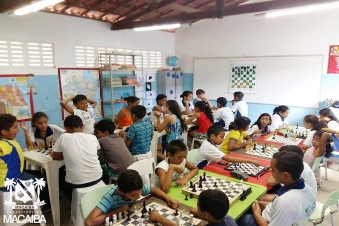 Macaíba investe e é destaque no Xadrez Escolar do RN