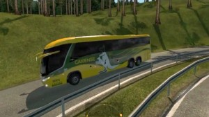 Marcopolo Paradiso G7 bus in AI Traffic