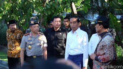 Presiden Jokowi Datangi GKI Surabaya, Cek Lokasi Ledakan - Info Presiden Jokowi Dan Pemerintah