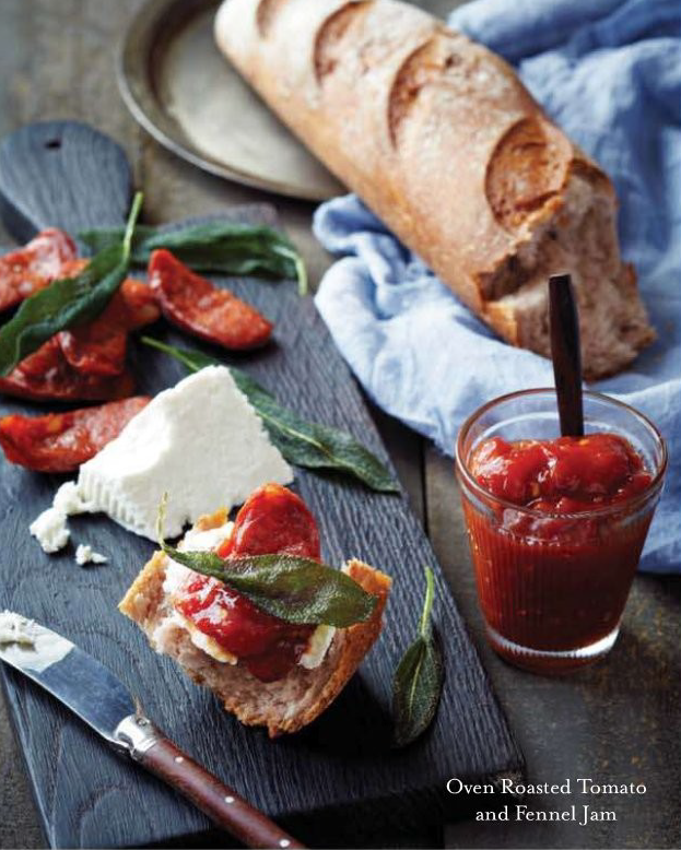 Oven Roasted Tomato with Fennel Jam Recipe