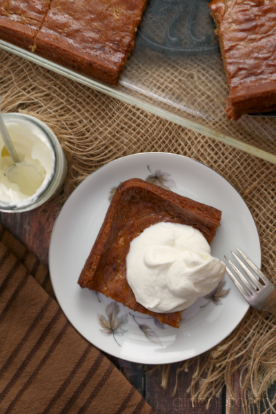 Persimmon Pudding #Thanksgiving #dessert