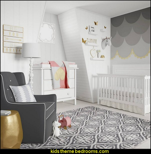 Dawn Nursery Room Modern baby bedrooms  - modern baby girls nursery  modern baby nursery - modern kids bedrooms - modern childrens furniture - modern baby bedding - modern home style decorating Mid Century modern decor - Modern baby bedrooms - modern baby girls nursery - modern baby boys nursery - modern baby