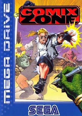 Rom de Comix Zone - Mega Drive - PT-BR