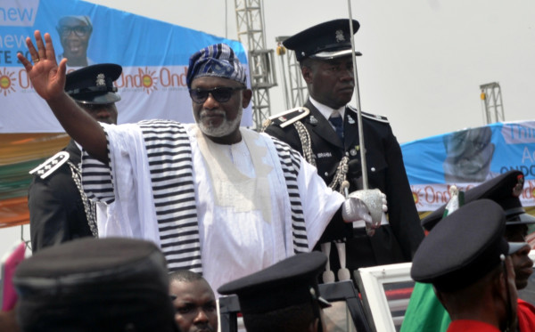 Governor Akeredolu said that he will not collect a dime until civil servants are fully paid their salary arrears