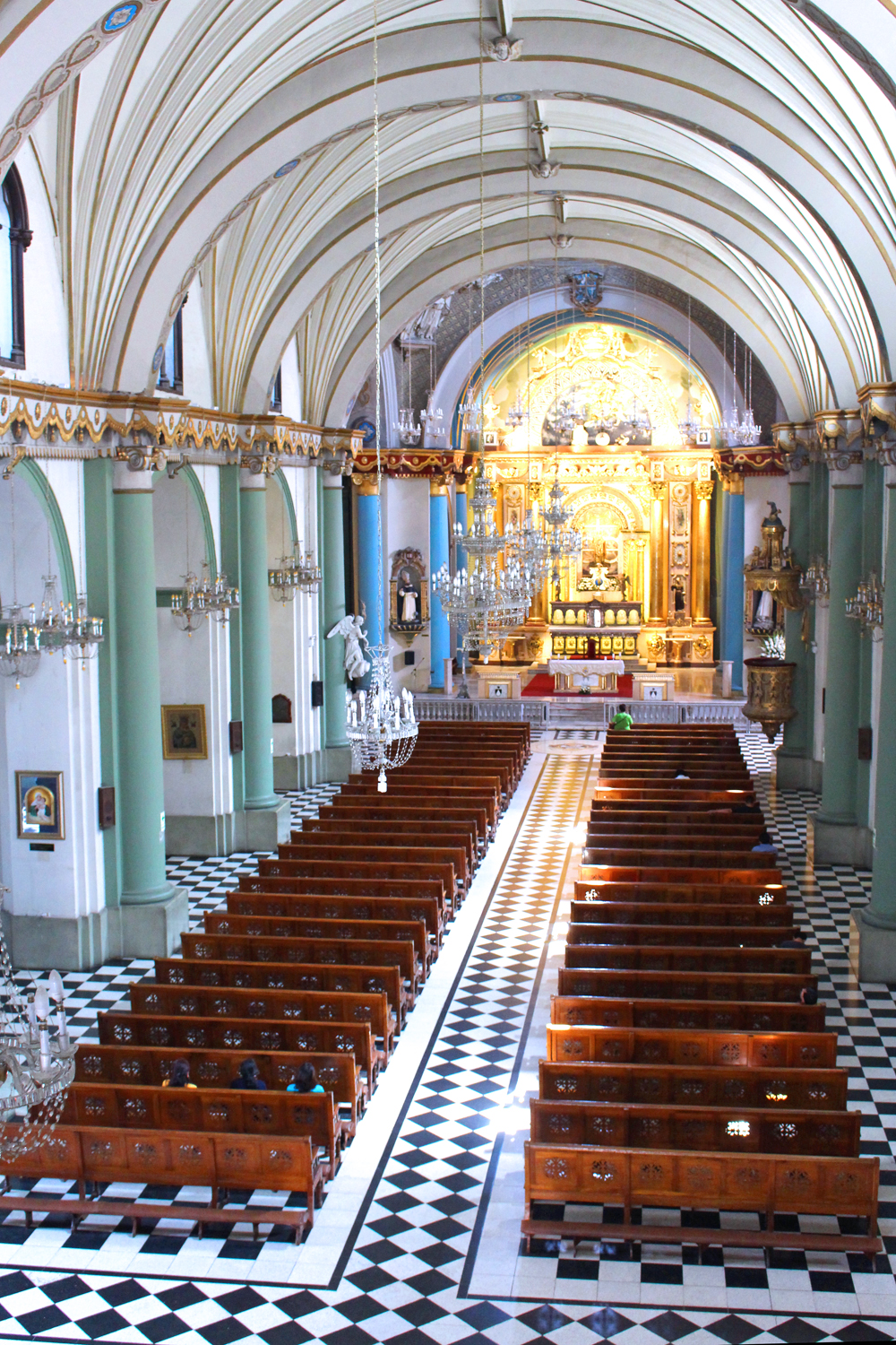 Old church in Lima, Peru - travel & lifestyle blog