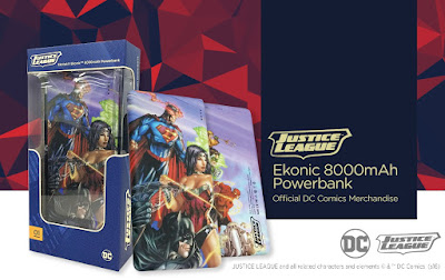 Ekotek Launches Ekonic DC Comics-Themed Powerbank