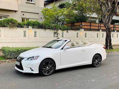 Lexus IS250C sản xuất 2011 siêu hiếm, một đời chủ mua mới và bảo dưỡng tại hãng