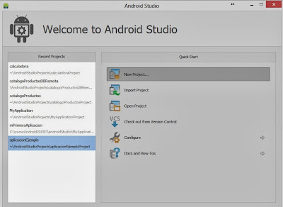 Entorno (IDE) de Android Studio