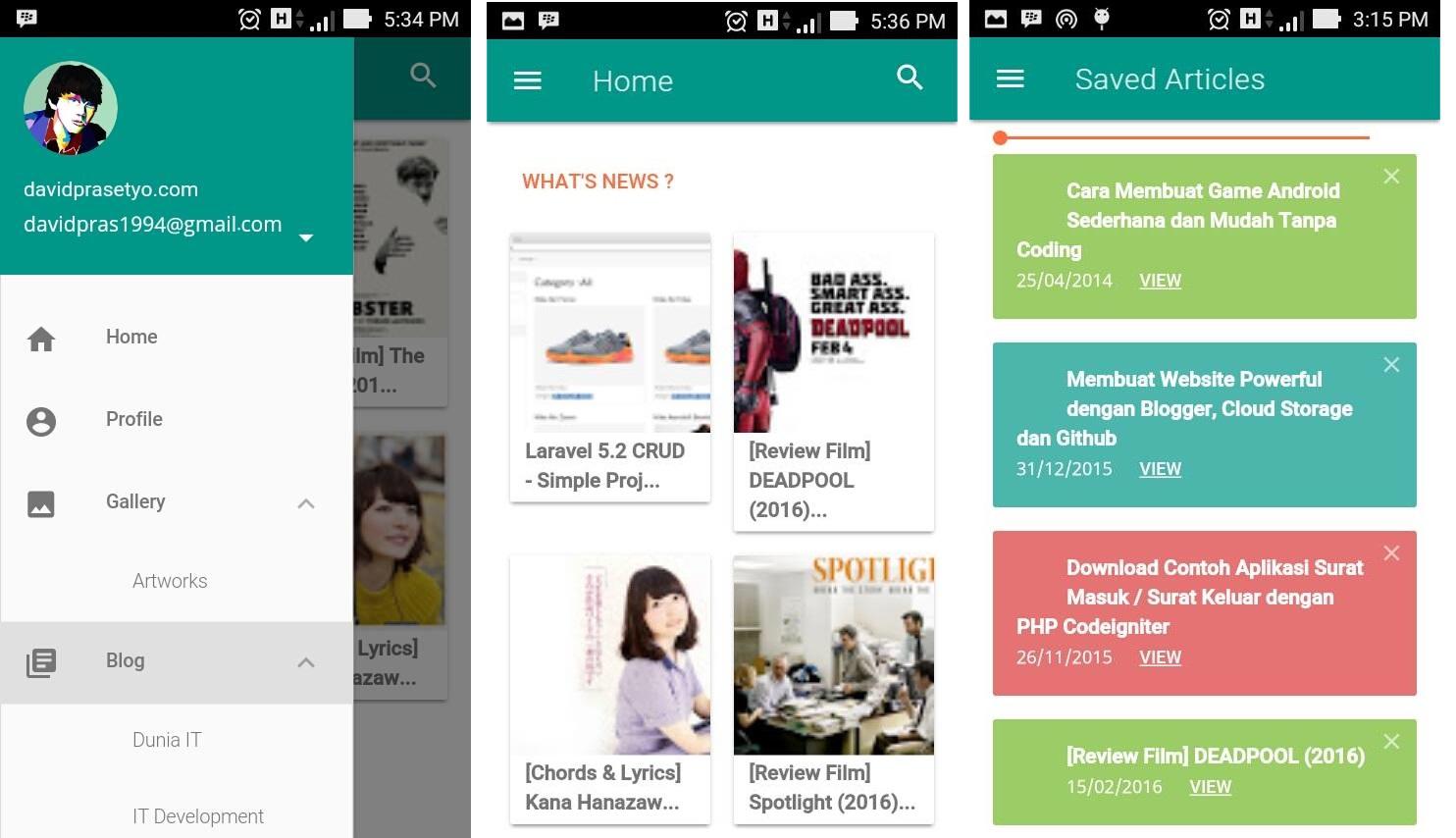 Tutorial Lengkap Membuat Blog Website Menjadi Aplikasi Android Apk
