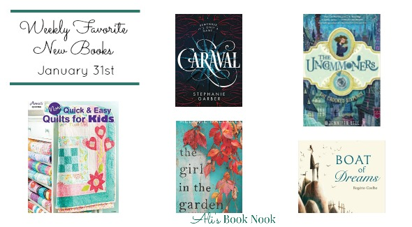 Weekly Favorite Newly Published Books January 31, 2017