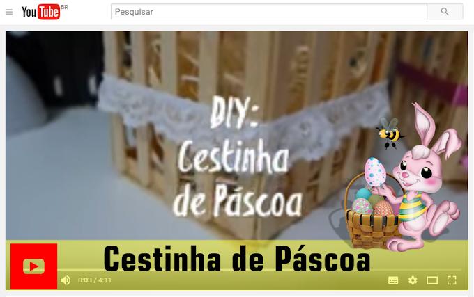 "CESTINHA DE PÁSCOA BY  BITS ""N"" BOBS"