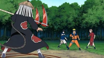 Hidan vs Naruto
