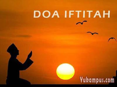 doa iftitah allahu akbar kabiro
