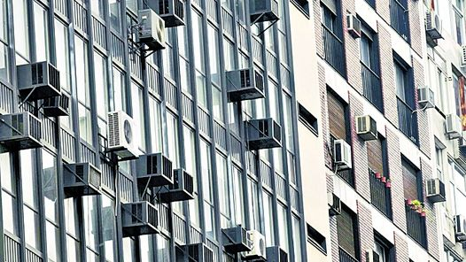 Desde el foro la instalaci n de aparatos de aire acondicionado en edificios en r gimen de - Ley propiedad horizontal patio interior ...