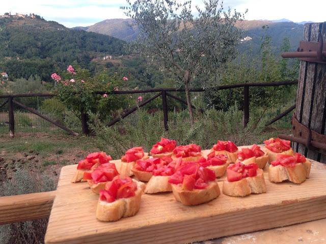 Tuscan tomato bruschetta