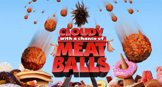 Cloudy with a Chance of Meatballs bercerita tentang cover poster
