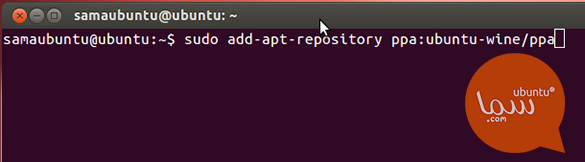 add wine repository ubuntu terminal