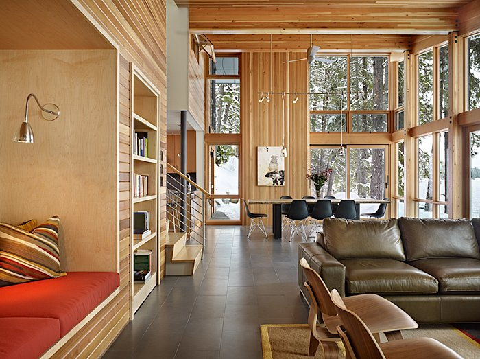 North Lake Wenatchee House : By DeForest Architects