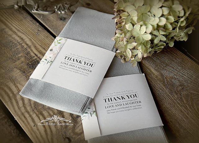 SimuLinen Premium Disposable Napkins, Bliss-Ranch.com