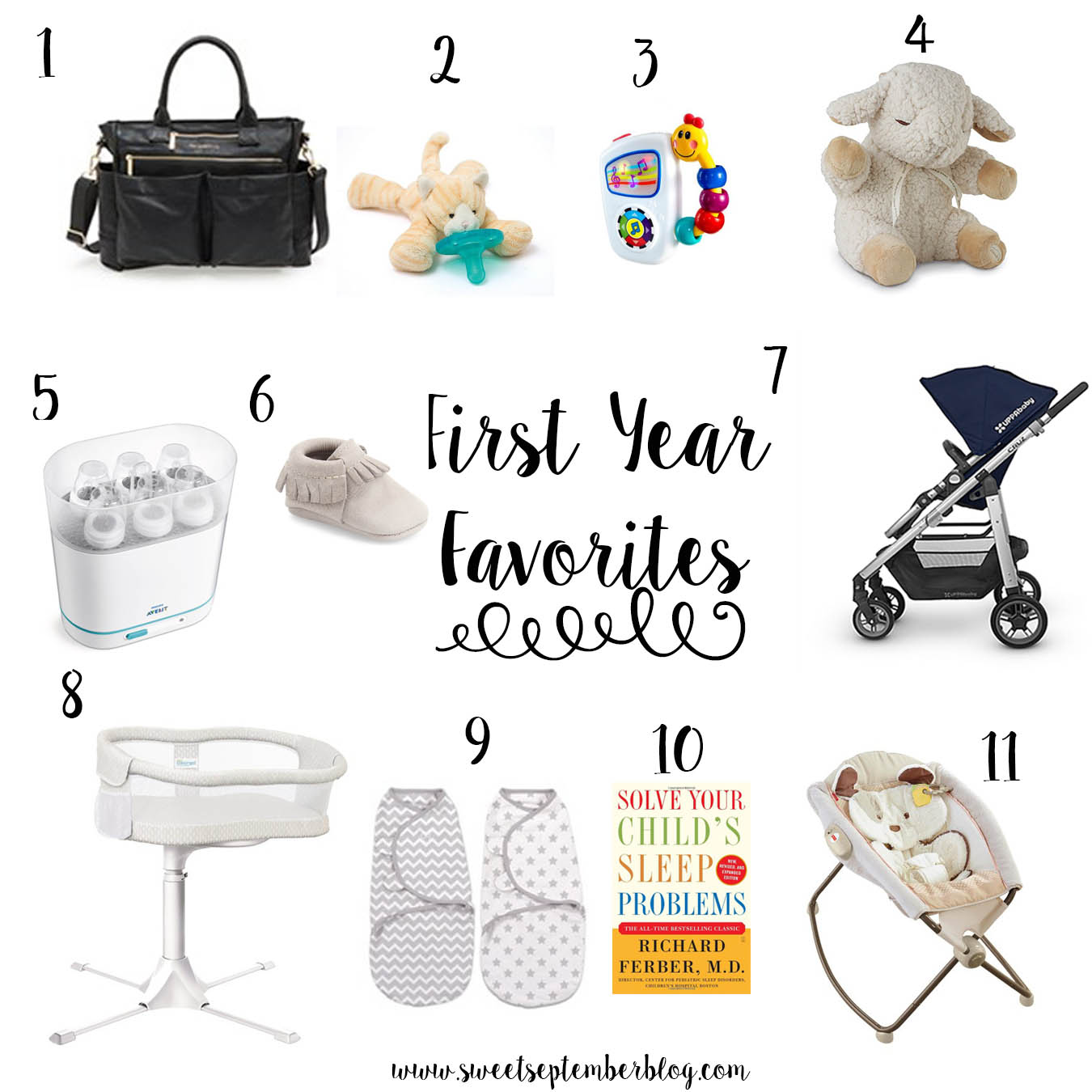 Favorite Products for Baby's First Year