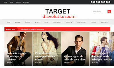 Template Terbaru 2017 Target Template Blog Download Gratis