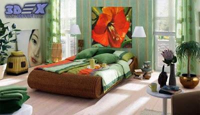 oil painting on canvas, oil paintings, bedroom wall art