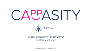 ARToken by Cappaity : Decentralized AR/VR ecosystem for 3D content exchange