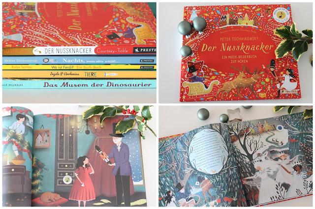 Der Nussknacker Soundbuch Lieblingsbuecher Weihnachten GEschenkidee Prestel Verlag Jules kleines Freudenhaus