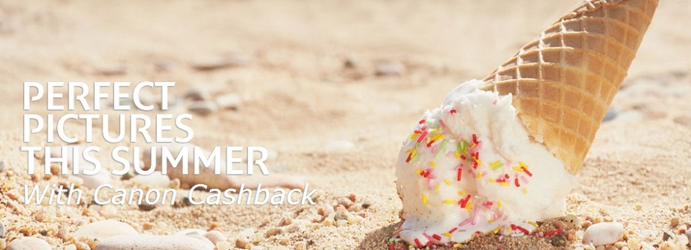 Canon U.K. Summer 2014 Cashback Promotion - Icecream