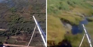 Βίντεο από την πτήση του μοιραίου ελικοπτέρου στο Σχινιά