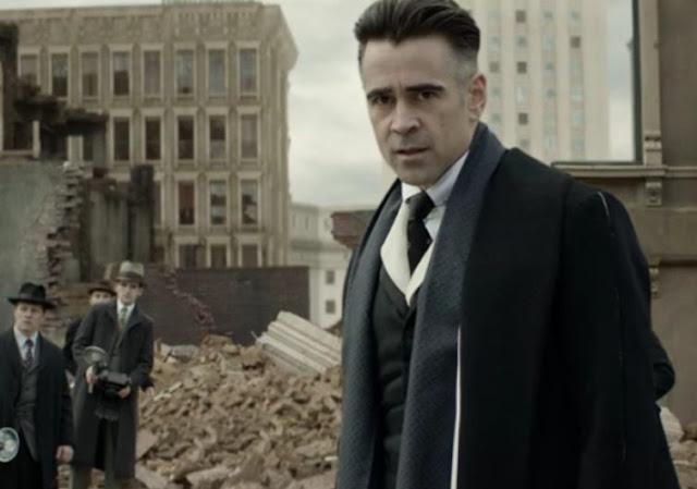 Colin Farrell en Percival Graves dans Les Animaux Fantastiques méchant