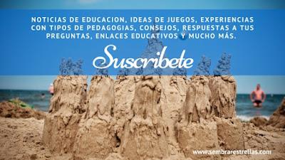 Noticias de educacion, ideas de juegos, Experiencias contipos de pedagogias, consejos, enlaces educativos y mucho más