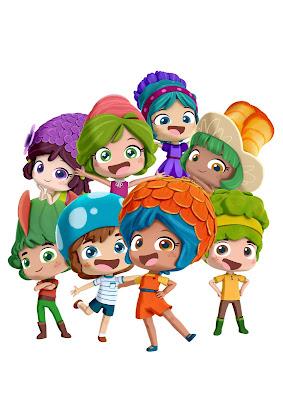 Série se passa em universo em miniatura povoado por personagens com poderes mágicos, que representam flores, plantas e cogumelos - Divulgação