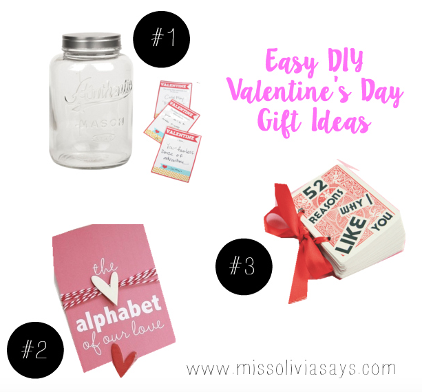 Easy and inexpensive DIY Valentine's Day gifts for your boyfriend or girlfriend