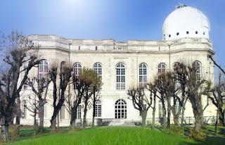 Le bâtiment principal de l'observatoire de Paris