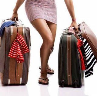maletas en Nochevieja Fin de Año