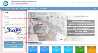 Cara Mengisi Data Sekolah Di Web UNBK Kemdikbud