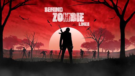 تحميل لعبة Behind Zombie Lines v1.4 مهكرة وكاملة للاندرويد ذخيرة لا تنتهي