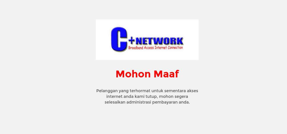 ANWARANI: Blok Akses Internet Pelanggan yang Terlambat Bayar