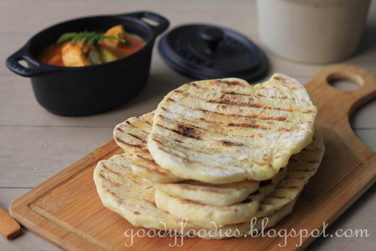 GoodyFoodies: Recipe: Jamie Oliver's Easy Flatbread