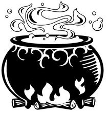 caldero brujas wicca simbolos significados