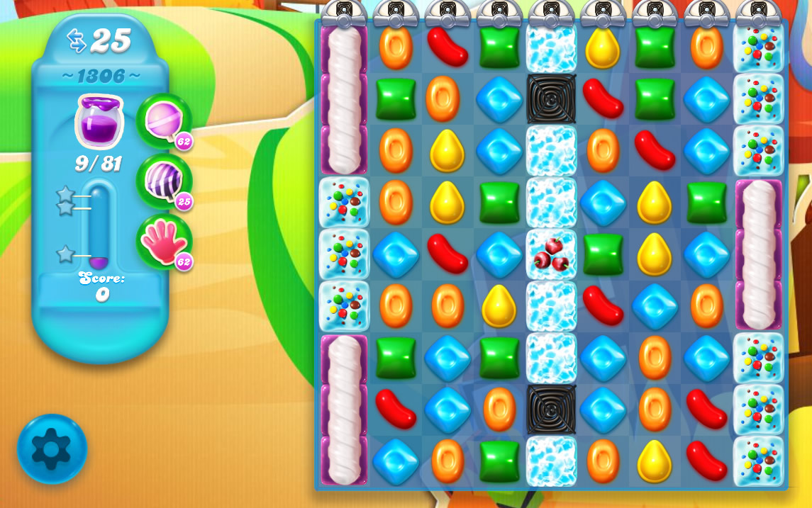 Candy Crush Soda Saga level 1306
